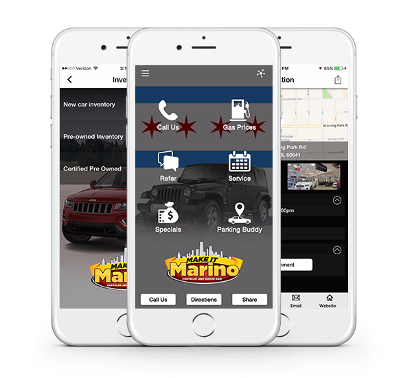 Download our Marino Chrysler Jeep Dodge Smartphone App
